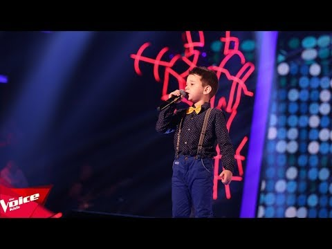 Samueli – Let's twist again | Audicionet e Fshehura | The Voice (Kids) Albania