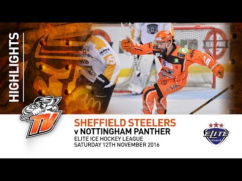 Sheffield Steelers v Nottingham Panthers - EIHL - Saturday 12th November 2016