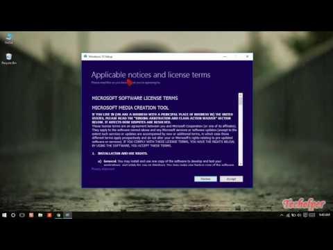 How To Download Windows 10 Iso Anniversary Update Using Media Creation Tool  Techelpe   windows#007