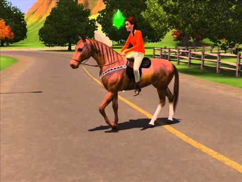 The Saddle Club In The Sims 3 Youtube