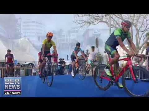 Triathlon Elite Athletes Familiarisation Ride, April 27 2018