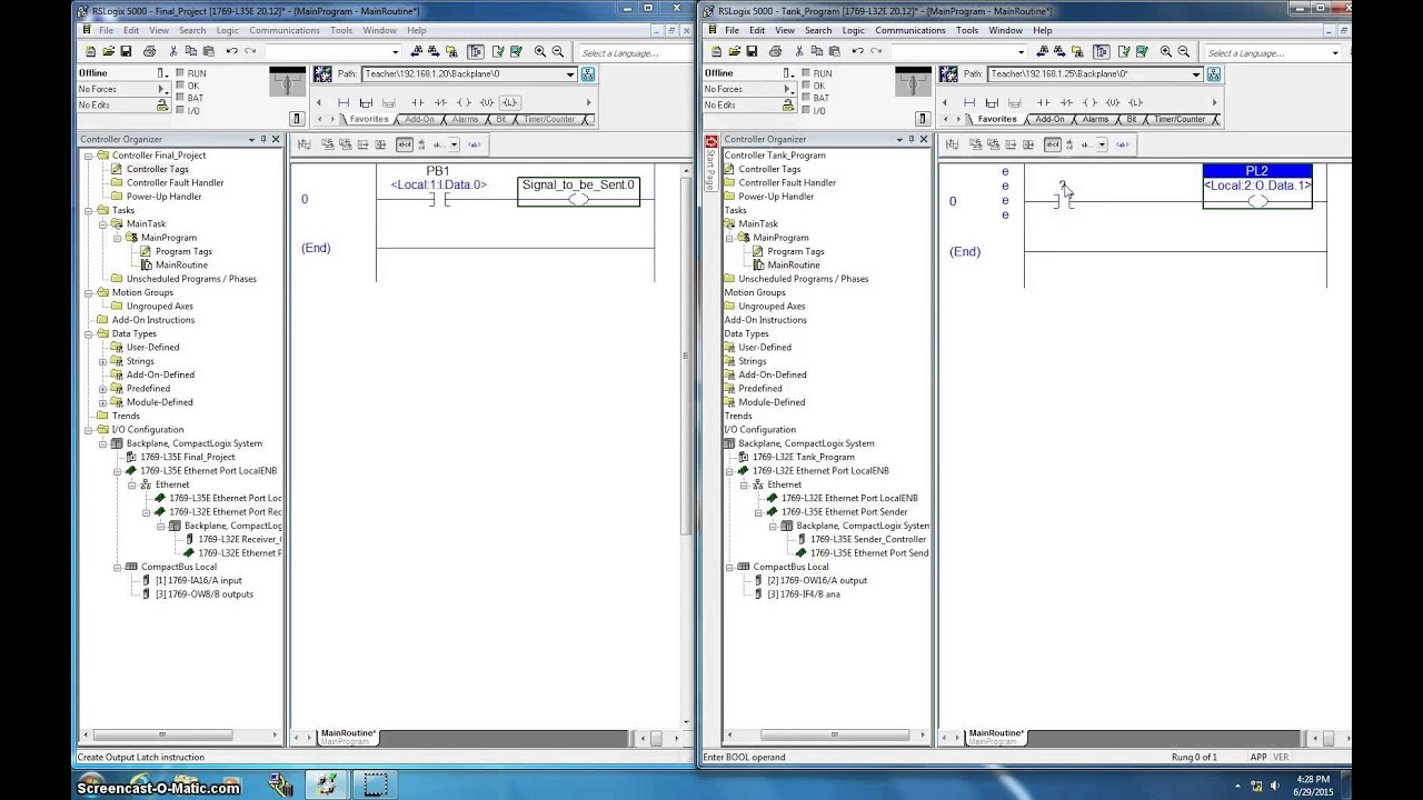 How to send a dm on 6 tag - How To Program A Producer And Consumer Tags In Rslogix 5000 To Send Bits Over The Ethernet