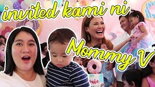 Ang BONGGA Ng PaBiRTHDAY Ni MOMMY V Para Kay LOUIE! 🎂Kris Lumagui