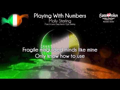 "Molly Sterling - ""Playing With Numbers"" (Ireland) - [Karaoke version]"