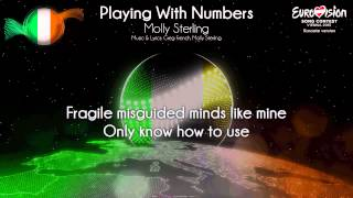 """Molly Sterling - """"Playing With Numbers"""" (Ireland) - [Karaoke version]"""
