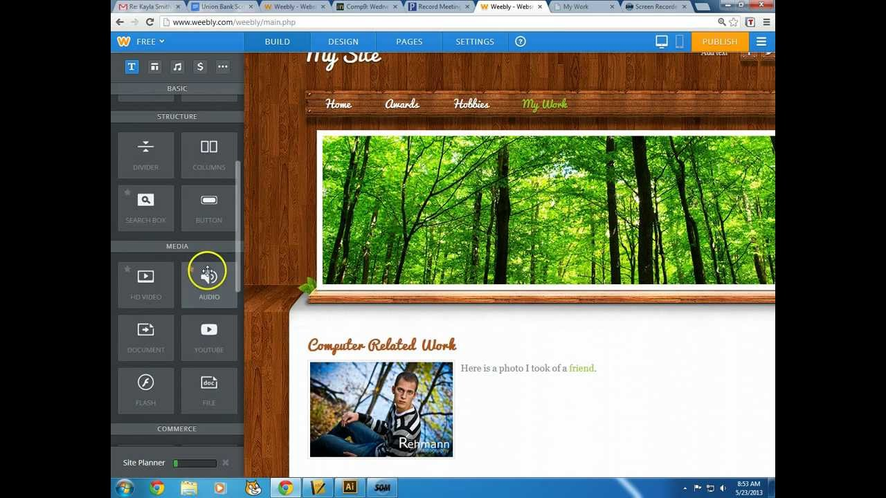 Weebly - How to tutorial to weebly.com: Create a Free Website ...