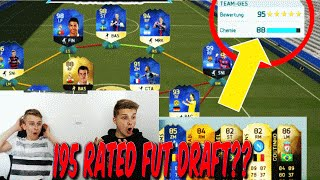 195 RATED FUT DRAFT?? ABSOLUT BESTES FUT DRAFT? - FIFA 16: ULTIMATE TEAM (DEUTSCH)