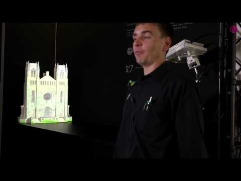 Green Hippo demonstrates 3D projection mapping capabilities