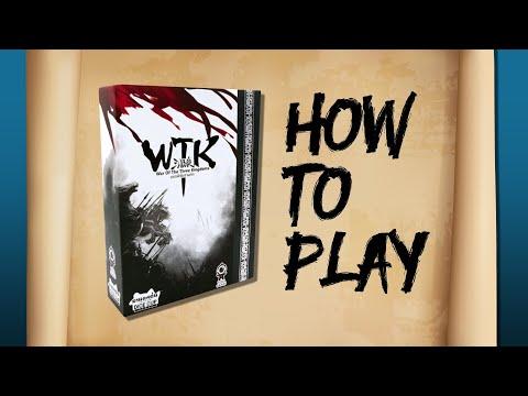 BGN บอร์ดเกมไนท์ War of the Three Kingdoms ยุทธพิชัยสามก๊ก  How to Play