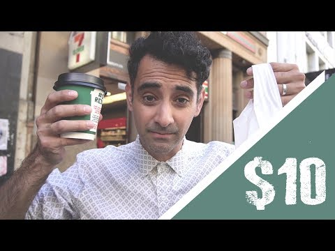 How much can I buy with 10 Dollars in Melbourne | How REALLY EXPENSIVE is Melbourne
