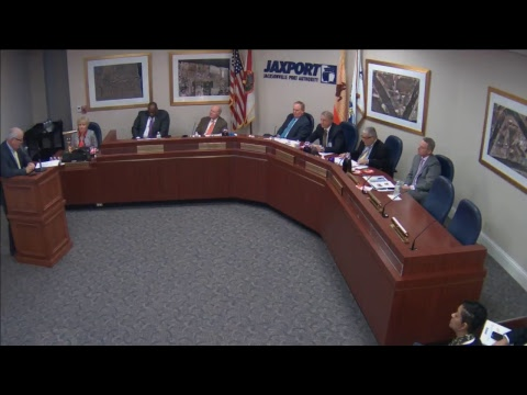 Dec. 13, 2017 JAXPORT Board of Directors meeting