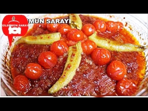 Muhtesem bir lezzet Tepsi Kebabi / Gülsümün Sarayi