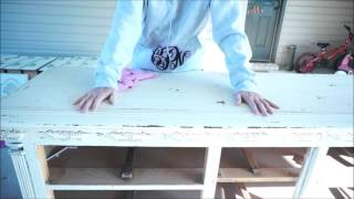 chalk paint and distressing 101