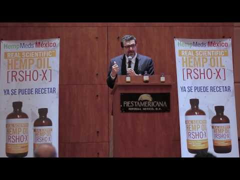 Renowned Mexican physician Dr. Garza Speaks at Cannabis Conference in Mexico City