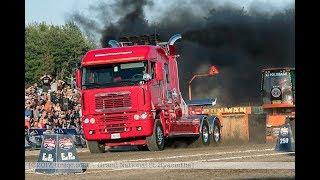 Semi Truck Pulls @ St-Hyacinthe 2017 by ASTTQ 4K