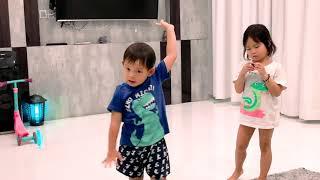 Có bạn nào muốn cùng tham gia tiết mục nhảy múa với Sunny Và Mio không? | Gia Đình Lý Hải Minh Hà