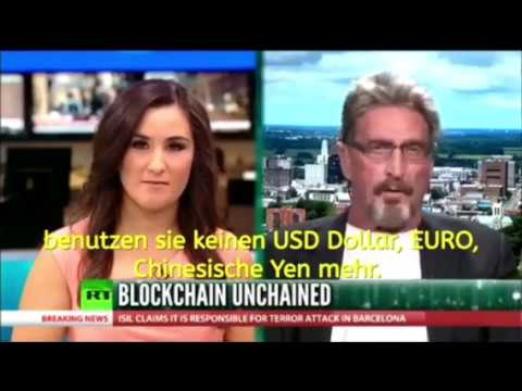 John McAfee über Bitcoin Deutsch
