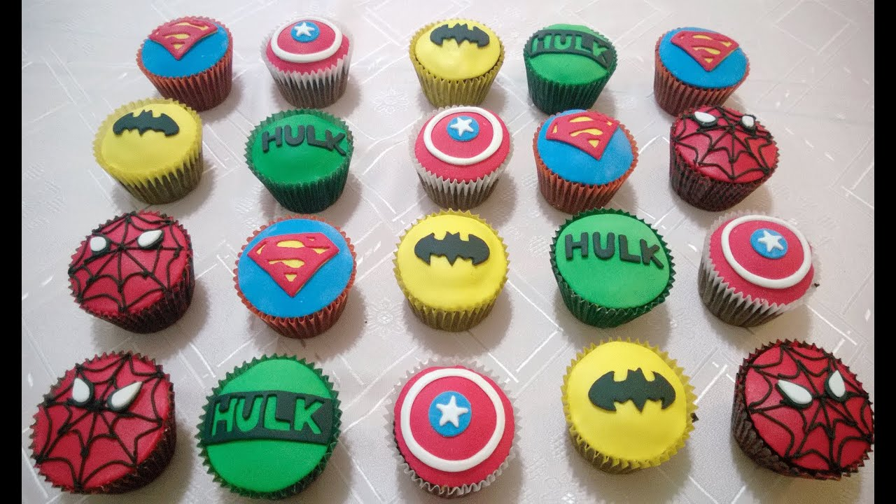 Spiderman And Batman Cake Ideas