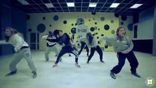 B.o.B. feat. Chris Brown -- Throwback; choreography by Sasha Selivanova; D.side dance studio