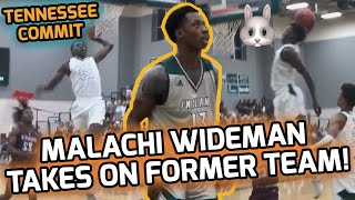 Malachi Wideman Flips College Commitment From FSU to Tennessee! Drops 30 POINTS On Former School! 😈
