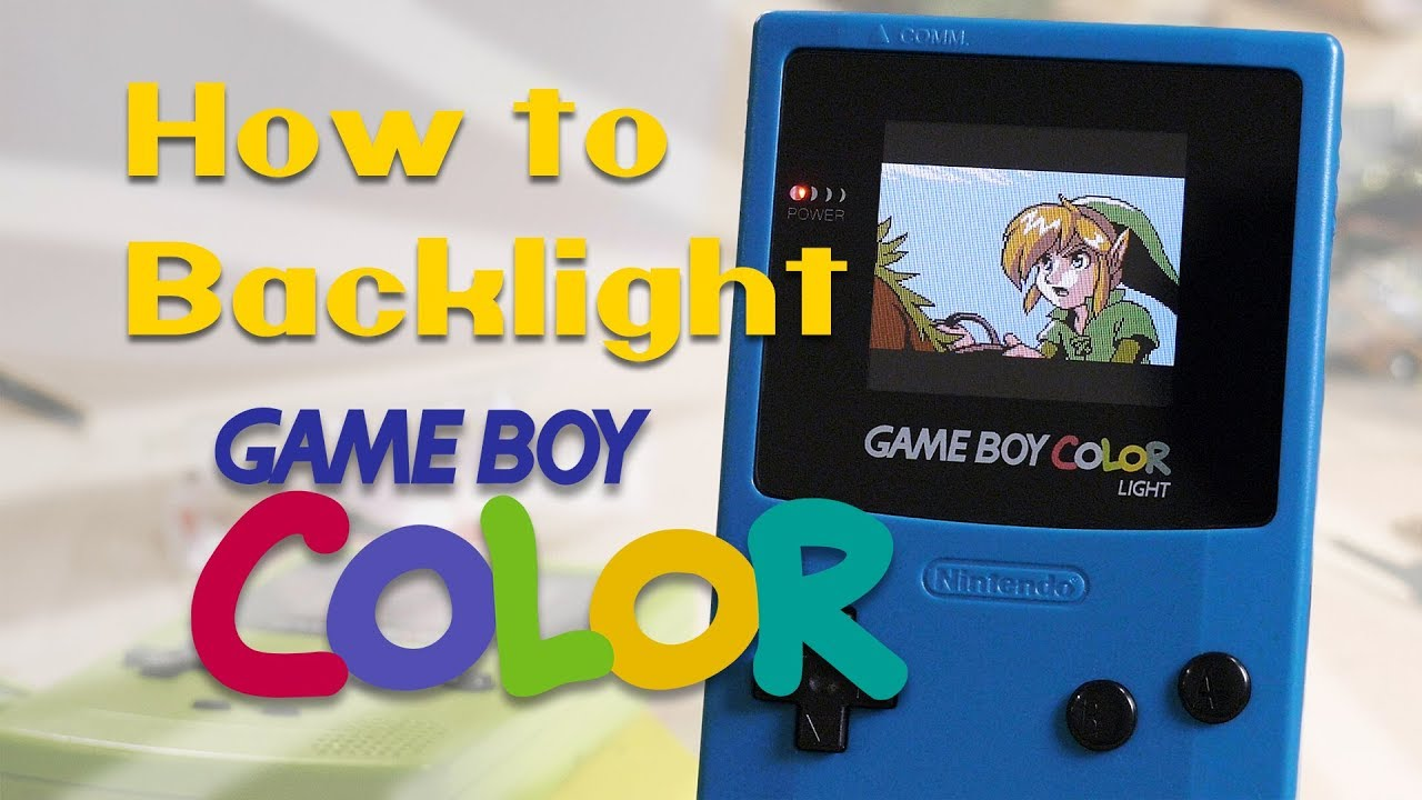 How To Backlight A Game Boy Color The Ultimate Guide Bennvenn Ags 101 Mod