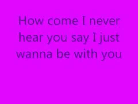 Kelly Clarkson-Since U Been Gone Lyrics