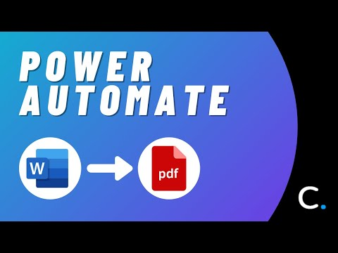 Convert Word Documents to PDF in Power Automate