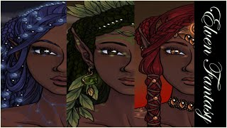 Elven Fantasy - Azalea's Dolls Elven Portrait Maker