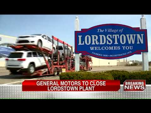 General Motors to close Lordstown plant