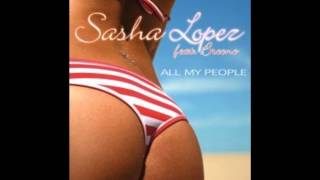 Sasha Lopez All my people on the floor-weekend Mash-up by Dj DavidJoes