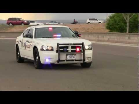 BIA - Bureau of Indian Affairs Police Dodge Charger Police Car Lights and Sirens