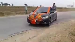 Chakwal Car Driftting by Ustad Nazakat 0333-5005319