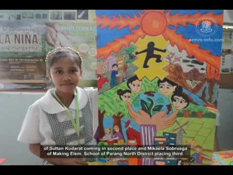 DAF-ARMM nagsagawa ng poster making contest