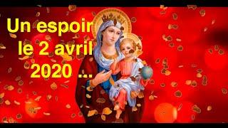 UN ESPOIR LE 2 AVRIL 2020 ...