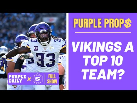 Are Minnesota Vikings a Top 10 team right now in the NFL?