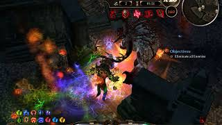 Grim Dawn - Cataclysm Deceiver 2.0 with Fire DB+Kalastor - Crucible 9:15 (under 8 min no lag)