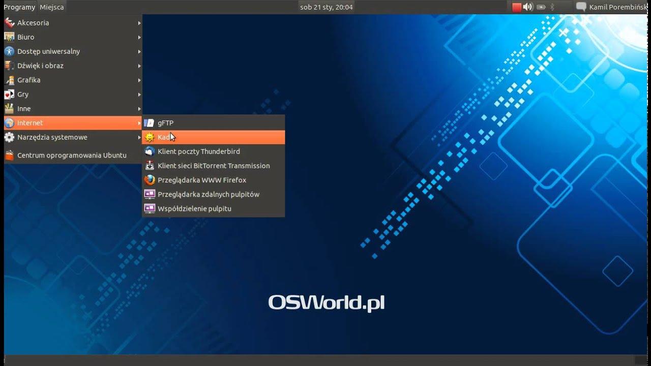 Linux jest prosty. Internet w Plusie za jednym kliknięciem ...