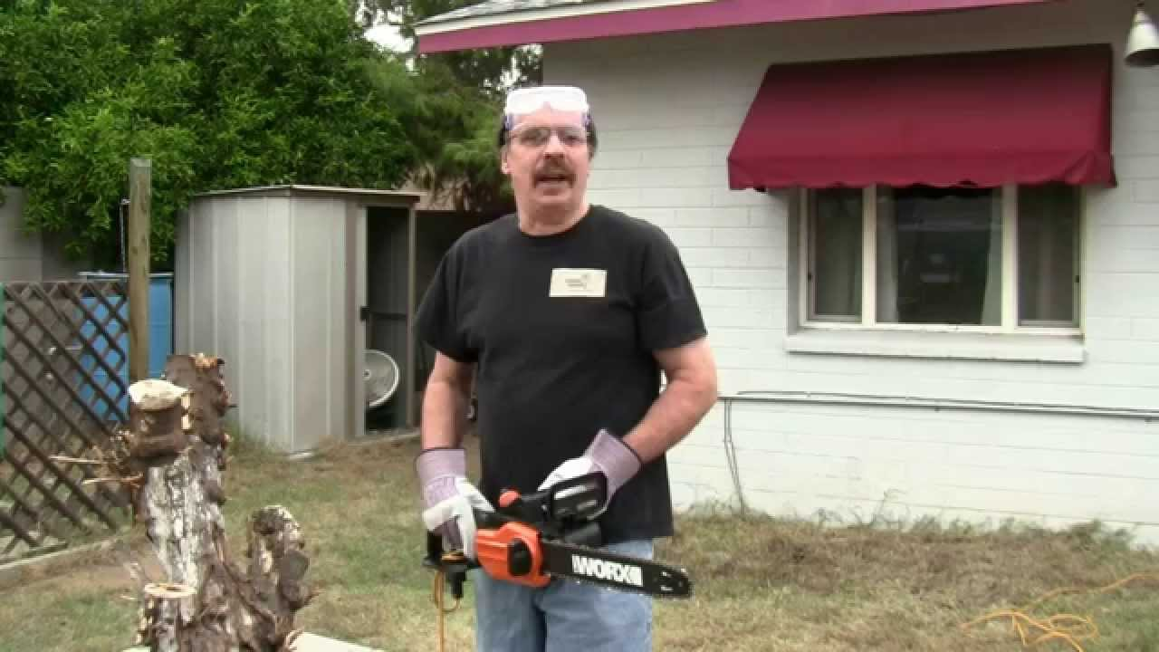 Review of the worx wg305 electric chainsaw youtube review of the worx wg305 electric chainsaw greentooth Image collections