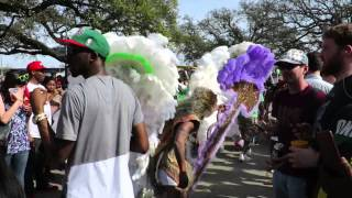 Mardi Gras Indians Super Sunday - New Orleans, 15 March 2015