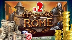Champions of Rome slot Yggdrasil win on free spins