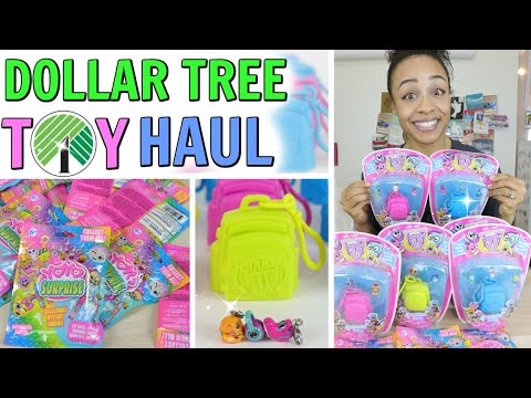 DOLLAR TREE TOY UNBOXING HAUL! BEST FINDS EVER! CHARMS U YOYO SURPRISE BLING BAGS