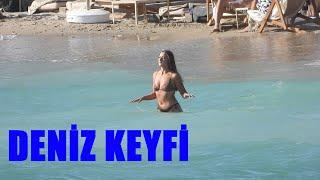 Aleyna Kalaycıoğlu'nun Deniz Keyfi