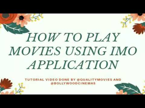 Watch this tutorial to Learn how to watch  movies with Imo links❤️