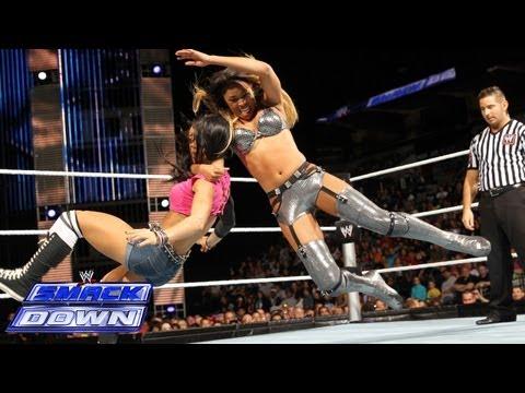 Cameron vs. AJ Lee: SmackDown, Sept. 27, 2013