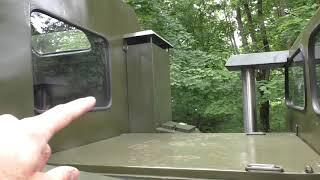Гусеничный вездеход ГАЗ-71 с дизельным двигателем 'мерседес'