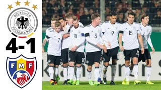... germany u21 vs moldova 4 1 all goals & extended highlights 2020 hdgermany mo...
