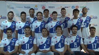 Jaó/Universo apresenta equipe para Superliga B; Técnico já foi auxiliar de Bernardinho