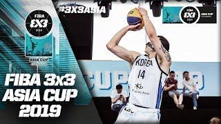 Malaysia v South Korea | Men's Full Game | FIBA 3x3 Asia Cup 2019