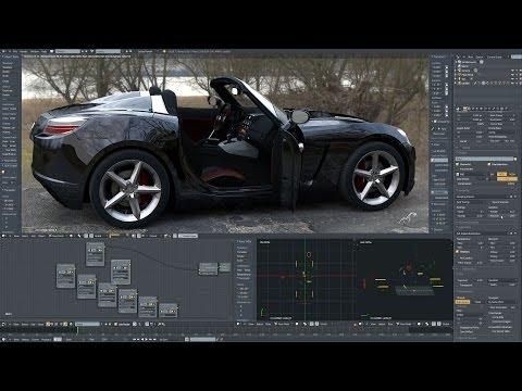 Opel GT | Real time rendering on Titan
