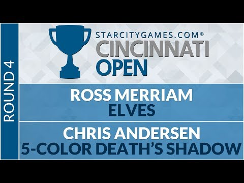 SCGCIN - Round 4 - Ross Merriam vs Chris Andersen
